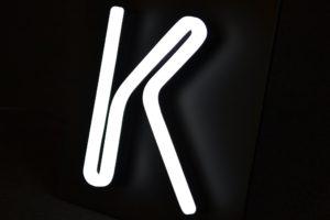 Seletti composition star lettres neon transformateur