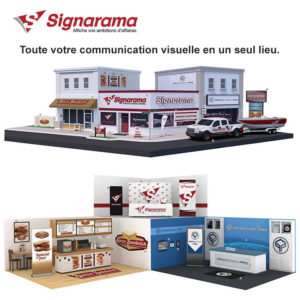 solutions d'affichage -SIGNARAMA