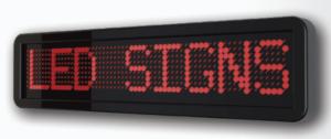 Tableau afficheur électronique-texte déroulant